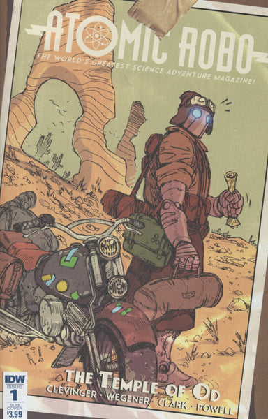 ATOMIC ROBO & THE TEMPLE OF OD #1 OF 5 COVER B SUB VARIANT