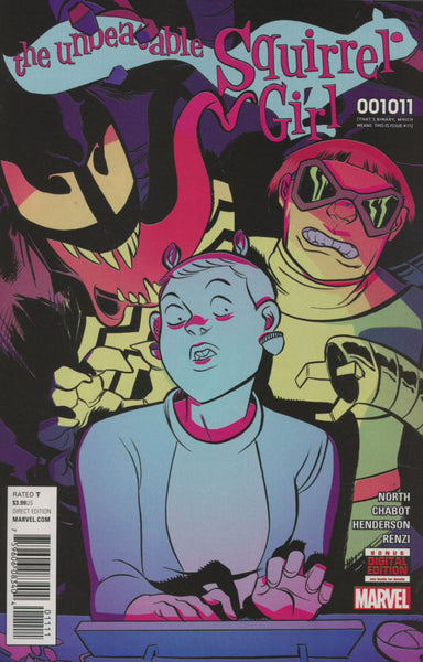 UNBEATABLE SQUIRREL GIRL #11 COVER A 1st PRINT