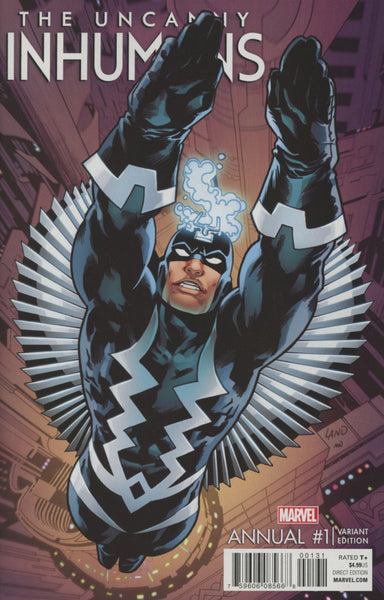 UNCANNY INHUMANS ANNUAL #1 COVER C GREG LAND VARIANT