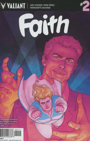FAITH #2 ONGOING COVER A 1st PRINT