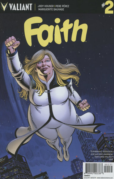 FAITH #2 ONGOING COVER C ORDWAY VARIANT