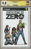GENERATION ZERO #1 COVER C CGC REPLICA VARIANT