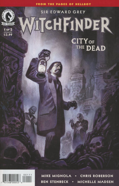 WITCHFINDER CITY OF THE DEAD #1 COVER A 1st PRINT
