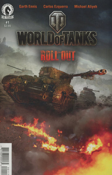 WORLD OF TANKS #1 COVER A 1st PRINT