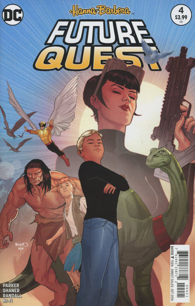 FUTURE QUEST #4 COVER B VARIANT RENAUD