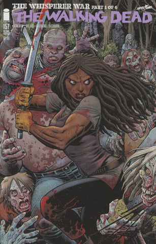 WALKING DEAD #157 COVER A 1st PRINT