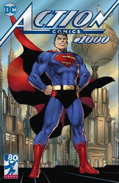 ACTION COMICS #1000 FOIL EXCLUSIVE VAR ED