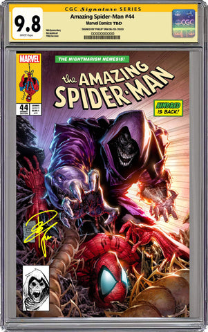 AMAZING SPIDER-MAN #44 PHILIP TAN CGC SIGNED EXCLUSIVE