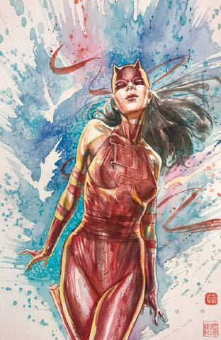 DAREDEVIL #25 DAVID MACK VIRGIN EXCLUSIVE