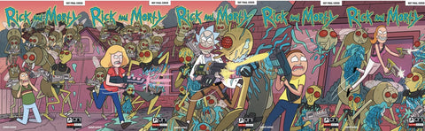 RICK & MORTY #1-5 CONNECTING COVERS 5 PACK