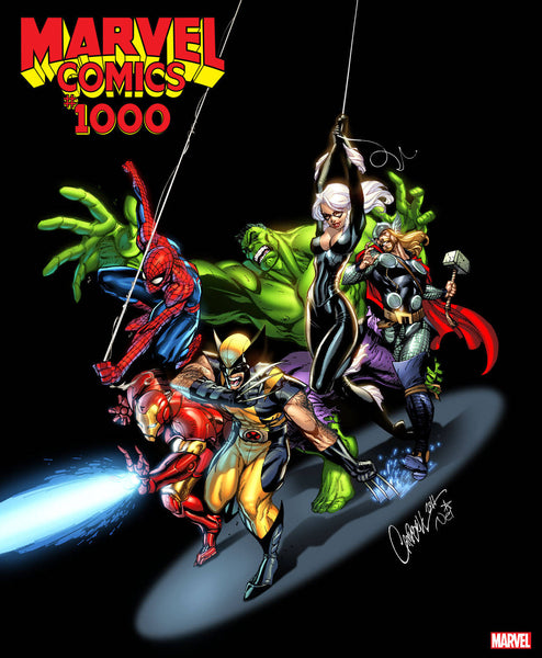 MARVEL COMICS #1000 J SCOTT CAMPBELL VAR