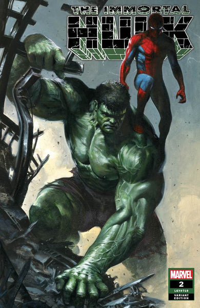 IMMORTAL HULK #2 5TH PTG  DELLOTTO UNKNOWN EXCLUSIVE