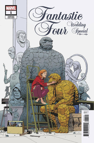 FANTASTIC FOUR WEDDING SPECIAL #1 MARTIN VAR