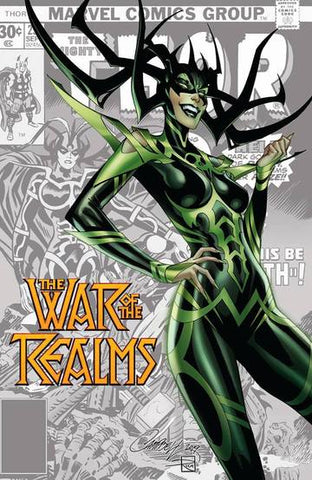 WAR OF REALMS #1 (OF 6) JS CAMPBELL VAR