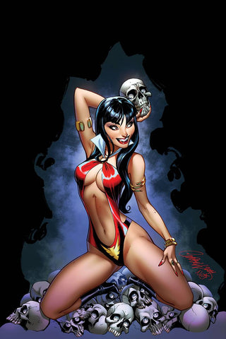 VAMPIRELLA #3 J SCOTT CAMPBELL VIRGIN CVR