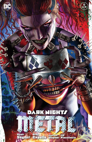 DARK NIGHTS METAL #6 (OF 6) COMICXPOSURE EXCLUSIVE GREG HORN