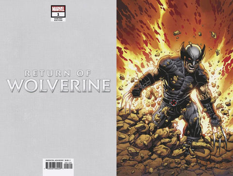 RETURN OF WOLVERINE #1 (OF 5) MCNIVEN X-FORCE COSTUME VIRGIN