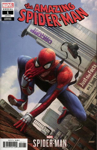 AMAZING SPIDER-MAN ANNUAL #1 CHAN SPIDER-MAN VIDEO GAME VAR