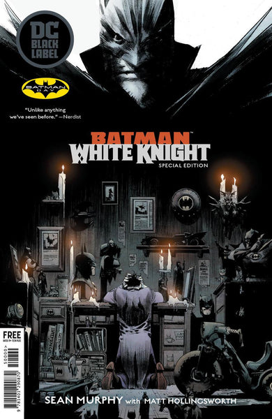 BATMAN WHITE KNIGHT BATMAN DAY 2018 SPECIAL EDITION - FREE - LIMIT 1 PER