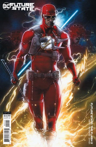 FUTURE STATE THE FLASH #2 (OF 2) CVR B KAARE ANDREWS CARD STOCK VAR