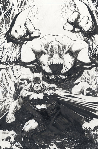 BATMAN THE MAXX #1 (OF 5) B&W CONVENTION EXCLUSIVE