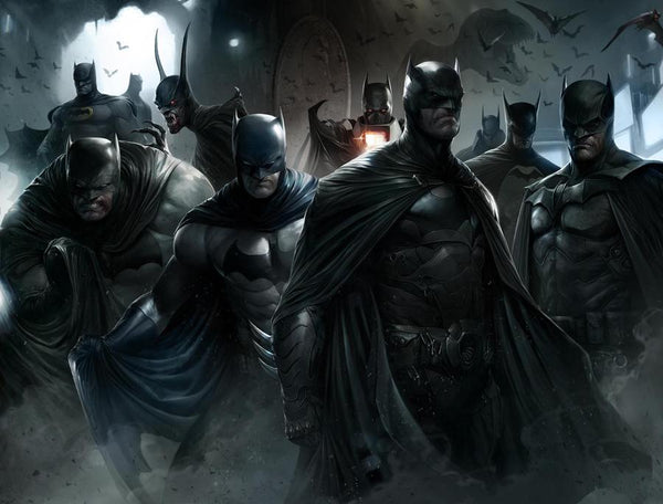 DETECTIVE COMICS #1000 FRANCESCO MATTINA WRAPAROUND EXCLUSIVE
