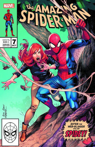 AMAZING SPIDER-MAN #7 JAMAL CAMPBELL EXCLUSIVE
