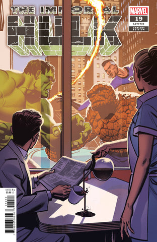 IMMORTAL HULK #19 SMALLWOOD MARVELS 25TH TRIBUTE VAR