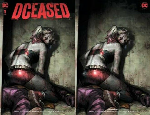 DCEASED #1 (OF 6) JEE HUNG LEE 2 PACK EXCLUSIVE