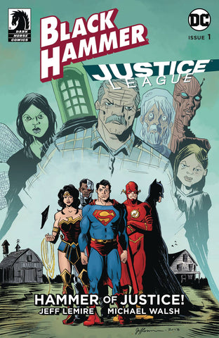 BLACK HAMMER JUSTICE LEAGUE #1 (OF 5) CVR D LEMIRE
