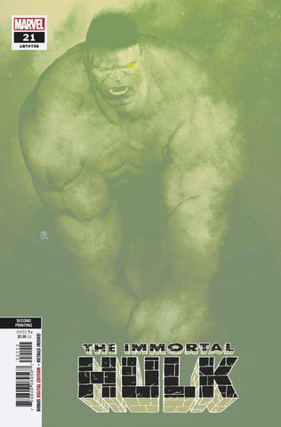 IMMORTAL HULK #21 2ND PTG SORRENTINO VAR