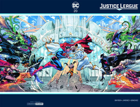 JUSTICE LEAGUE #20 C2E2 FOIL EXCLUSIVE
