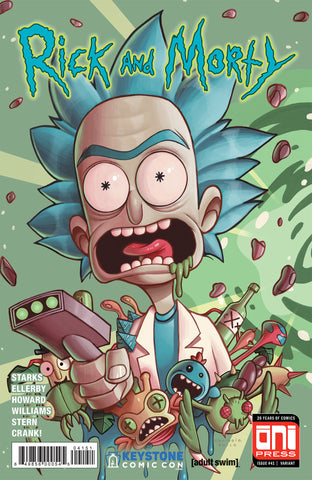 RICK & MORTY #41 KEYSTONE EXCLUSIVE