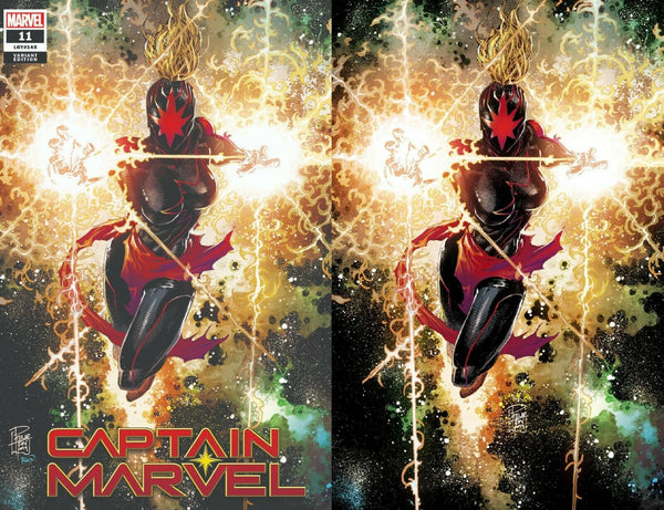 CAPTAIN MARVEL #11 PHILIP TAN 2 PACK  COMICXPOSURE EXCLUSIVE