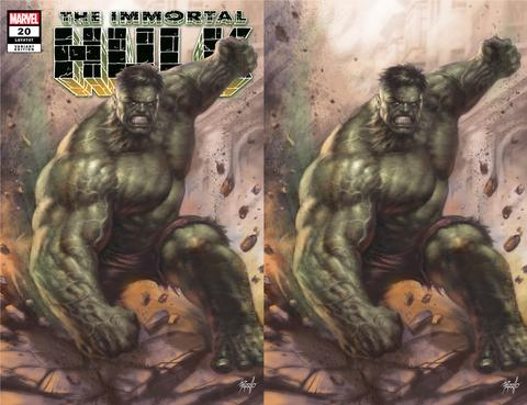 IMMORTAL HULK #20 LUCIO PARRILLO 2 PACK EXCLUSIVE