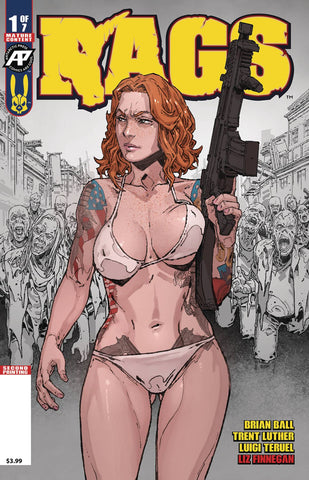 RAGS #1 2ND PRINTING (MR)