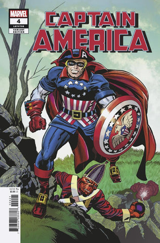 CAPTAIN AMERICA #4 KIRBY REMASTERED VAR