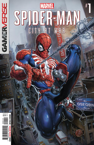 SPIDER-MAN CITY AT WAR #1 (OF 6)