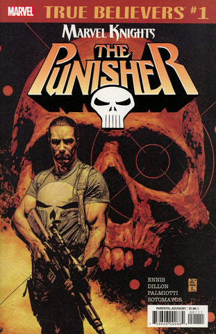 TRUE BELIEVERS PUNISHER BY ENNIS, DILLON & PALMIOTTI #1