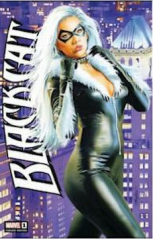 SDCC BLACK CAT #1 MIKE MAYHEW EXCLUSIVE