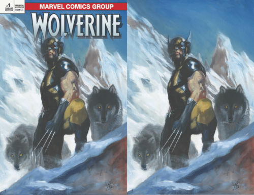 RETURN OF WOLVERINE #1 (OF 5) EXCLUSIVE DELLOTTO 2 PACK
