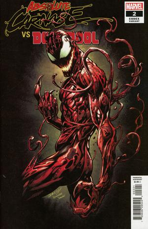 ABSOLUTE CARNAGE VS DEADPOOL #2 (OF 3) BAGLEY CODEX