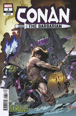 CONAN THE BARBARIAN #3 LARRAZ SKRULLS VAR