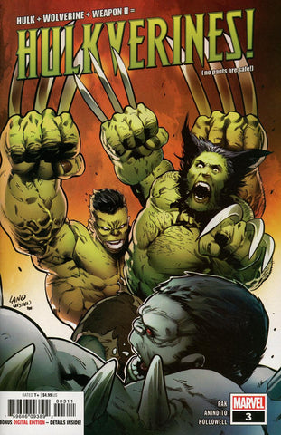 HULKVERINES #3 (OF 3)