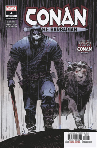 CONAN THE BARBARIAN #4 2ND PTG ZAFFINO VAR
