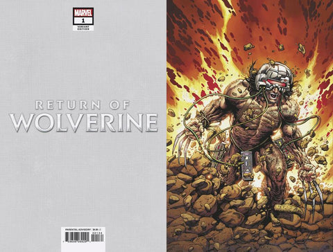 RETURN OF WOLVERINE #1 (OF 5) MCNIVEN WEAPON X COSTUME VIRGIN
