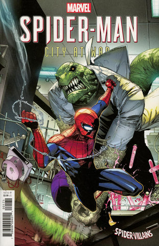 SPIDER-MAN CITY AT WAR #1 (OF 6) SPIDER-MAN VILLAINS VAR