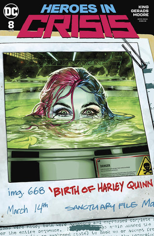 HEROES IN CRISIS #8 (OF 9) VAR ED