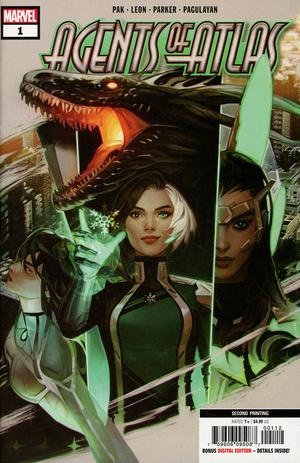 AGENTS OF ATLAS #1 (OF 5) 2ND PTG NEW ART REMENAR