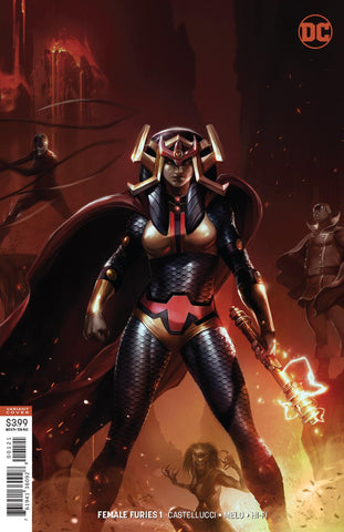 FEMALE FURIES #1 (OF 6) MATTINA VAR ED